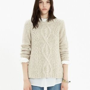 Madewell Firelight Marled Pullover Sweater